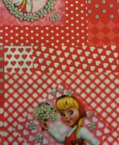 popeline efteling roodkapje patchwork