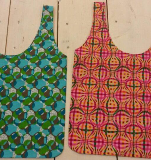 workshop voor dummies maak een shopper stof&wol