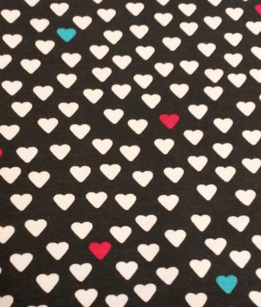 funky hearts sweattricot
