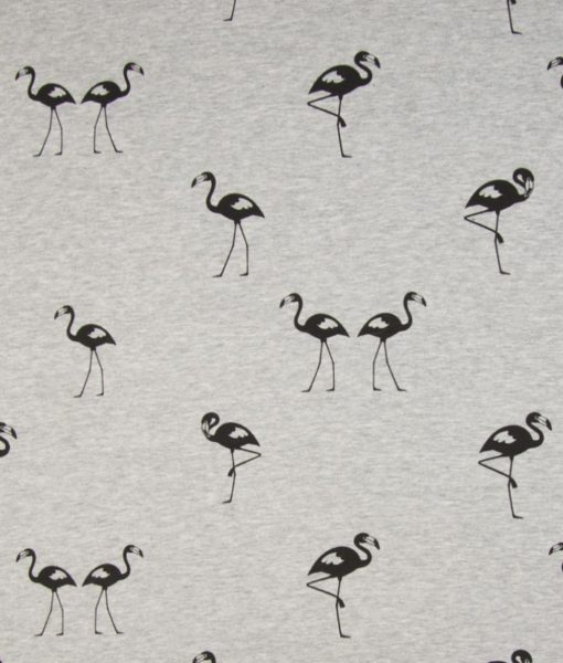 jogging flamingo