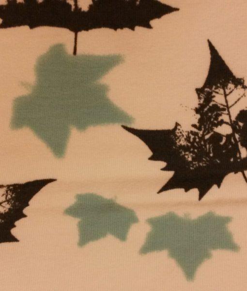 bladeren sweattricot ilja