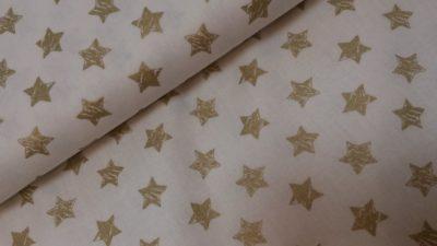 katoen grote ster goud