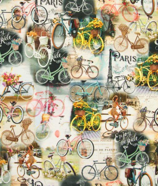 fietsen parijs digitale tricot