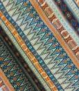 etnischstreep oranje blauw tricot hilco