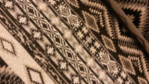 inca breisel zwart wit
