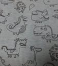 draken draakjes katoenen tricot