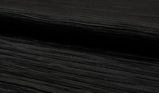 plisse jersey zwart