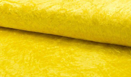 velours de panne geel