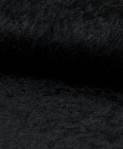 velours de panne zwart