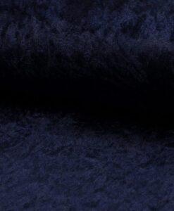 velour de panne marine
