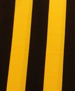 terlenka zwart gele streep