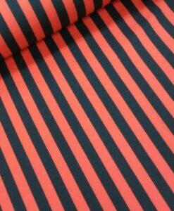 terlenka rood zwarte streep