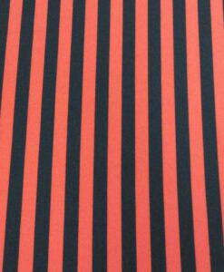 terlenka rood zwarte streep.