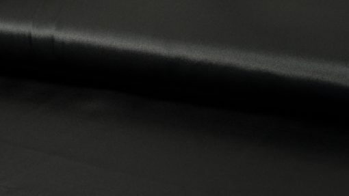 satijn uni zwart