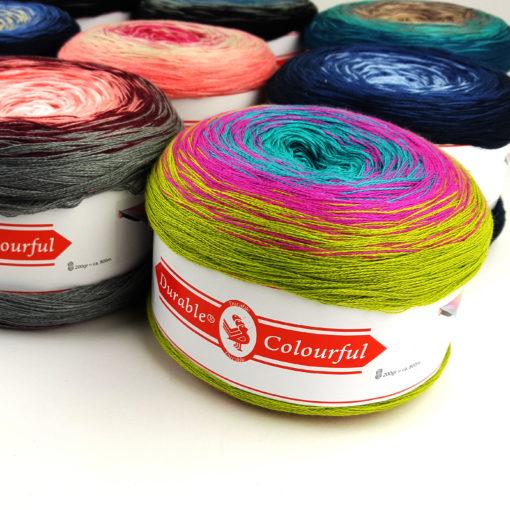 durable colourful