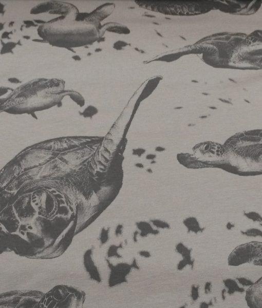 zeeschildpadden grijs sweattricot Ilja