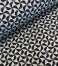 tricot llicht donkerblauw grafisch poppy