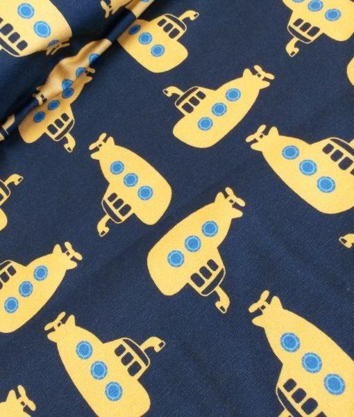 duikboot blauw geel tricot