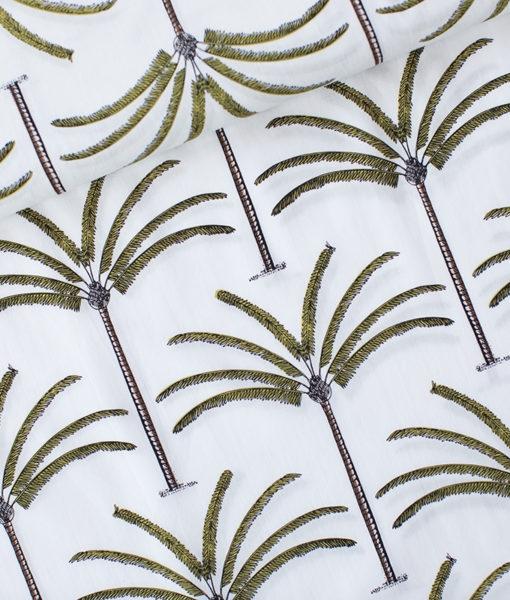 palmen zwart geel cotton lwan palms
