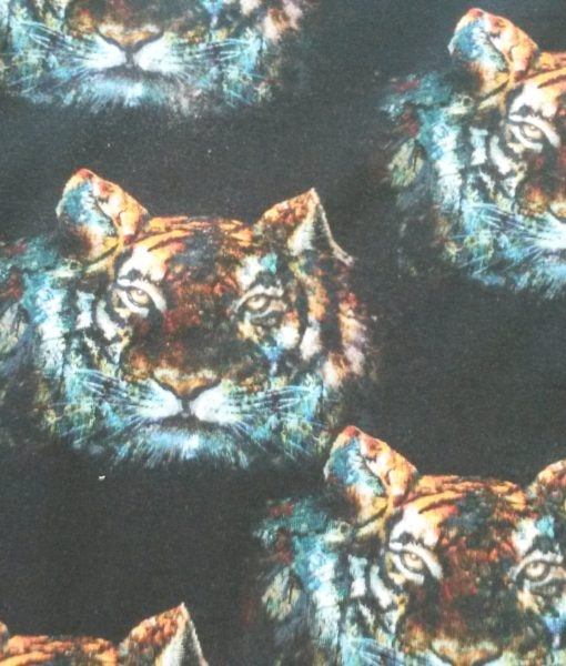 tijger zwart poppy