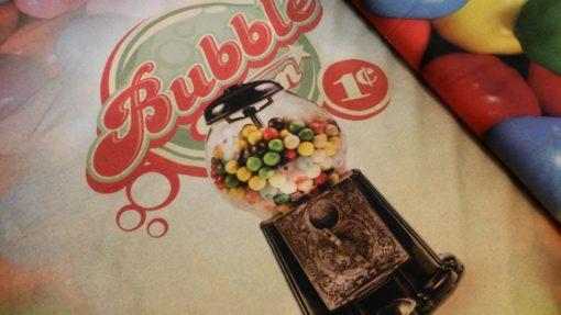 Kauwgomballen tricot paneel chewinggum Stenzo