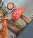 hertje konijn paddestoel tricot digitaal paneel Stenzo