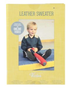 patroon la maisn victor leather sweater kindertrui