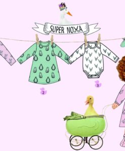 supernova Giullia patroon babykleding meisje