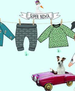 supernova lucca patroon babykleding jongen