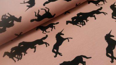 unicorns french terry chat chocolat