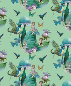elfjes groen digitale tricot stenzo