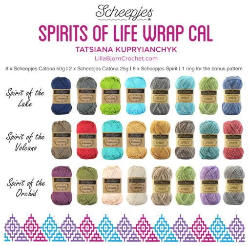 kleuren spirits of life wrap