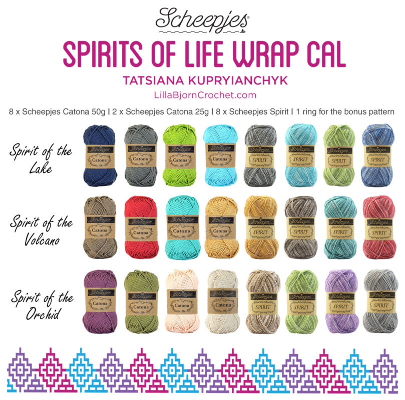 kleuren spirits of life wrap