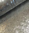 sweattricot met zilveren coating