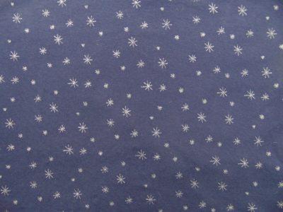 chat chocolat nightblue silver jersey print we re all stars