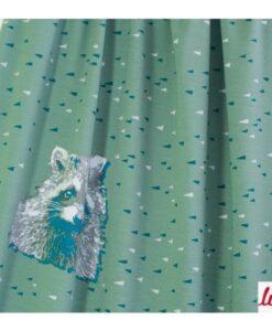 wasbeer biologische katoenen tricot paneel Lillestoff