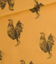 rooster chai ochre cotton lawn see you at six