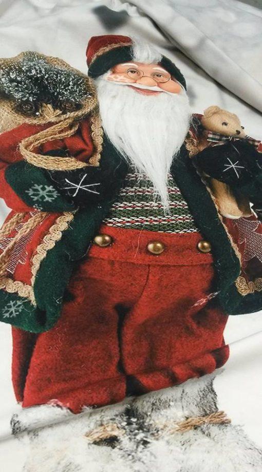 kerstman sneeuw digitaal paneel Stenzo