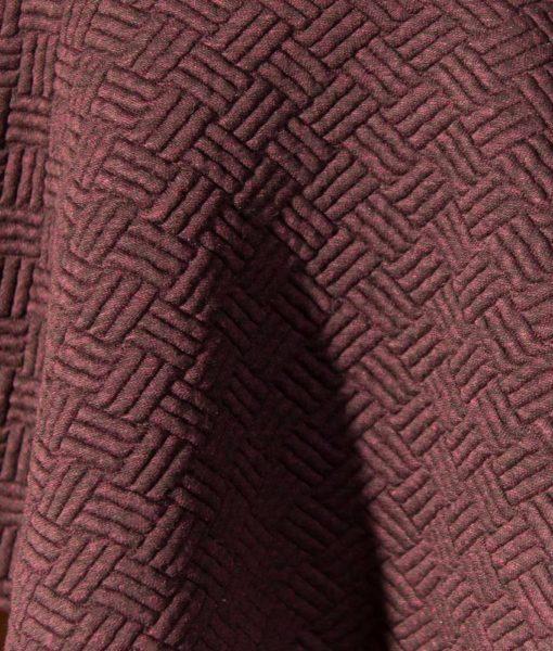 la maison victor sweaterstof noella jurk