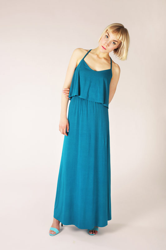 patroon pattern Delphi layered maxidress Named