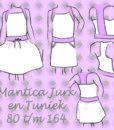 patroon mantica tuniek en jurk sofilantjes