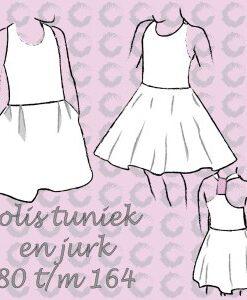 patroon solis tuniek en jurk sofilantjes