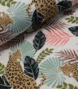la maison victor sweattricot t-shirt Jakarta luipaard bladeren