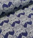 french terry bohemian blue milliblus