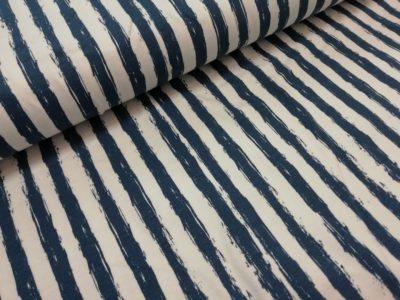strepen geverfd blauw tit tricot ilja fabrics