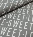 sweet lover grijs wit sweattricot ilja fabrics