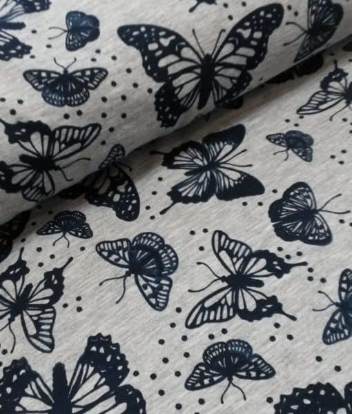 vlinders magiclight toerstof uv licht tricot