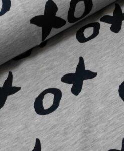 XO kusjes toverstof magiclight jersey verkleurt in UV licht