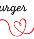logo hamburger liebe