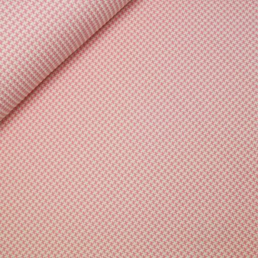 relief jacquardtricot tweed roze hamburger liebe albstoffe